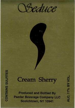 Seduce™ Cream Sherry